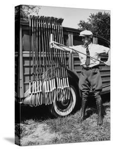 Polo Player Checking the Mallets by Alfred Eisenstaedt