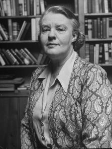Portrait of Journalist Dorothy Thompson by Alfred Eisenstaedt
