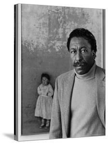 Portrait of Photographer Gordon Parks by Alfred Eisenstaedt