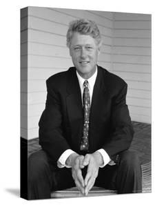 Portrait of President Bill Clinton by Alfred Eisenstaedt