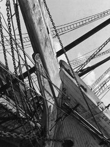 Prow of the Sailing Ship Luther Little by Alfred Eisenstaedt