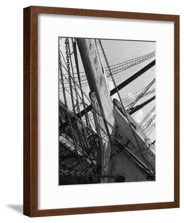 Prow of the Sailing Ship Luther Little