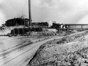 Road Leading Up to the Tennessee Copper Co. Mine by Alfred Eisenstaedt