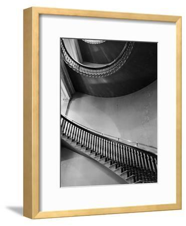 Spiral Staircase in the State Department Building