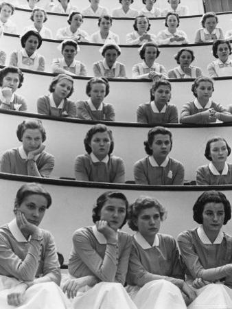 Student Nurses at Roosevelt Hospital