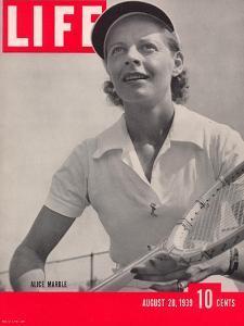Tennis Champ Alice Marble, August 28, 1939 by Alfred Eisenstaedt