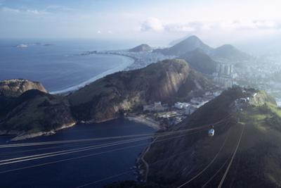 The Sugar Loaf Cable Car (Bondinho Do Pao De Acucar), Rio De Janeiro, Brazil