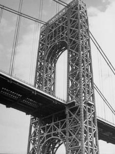 View of the George Washington Bridge by Alfred Eisenstaedt