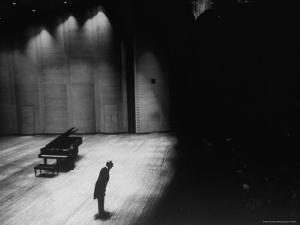 Vladimir Horowitz by Alfred Eisenstaedt