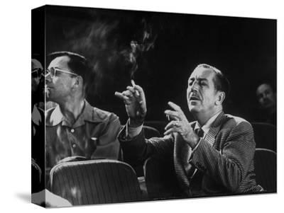 Walt Disney Gives Direction for His Forthcoming Story, Sleeping Beauty, Burbank, California, 1953