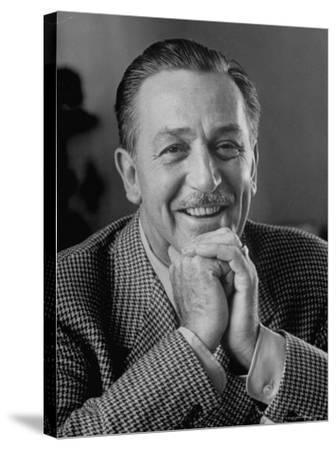 Walt Disney in Smiling Portrait by Alfred Eisenstaedt