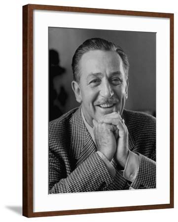 Walt Disney in Smiling Portrait