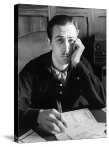 Walt Disney Sitting at His Desk by Alfred Eisenstaedt