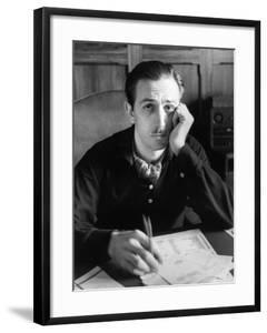 Walt Disney Sitting at His Desk by Alfred Eisenstaedt