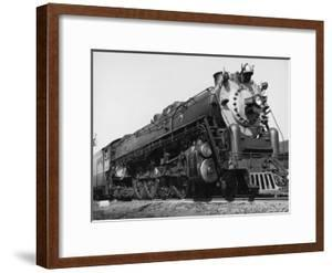 Wartime Railroading: Biggest Locomotive on the Atlantic Coast Line Pulls the Havana Special by Alfred Eisenstaedt