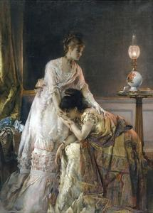 After the Ball by Alfred Emile Léopold Stevens