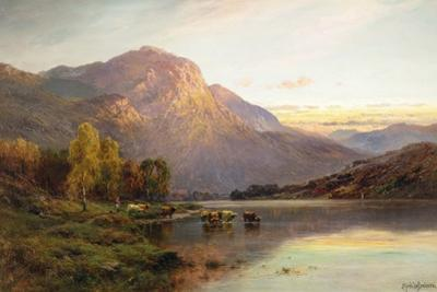 A View of Loch Lomond near Inversnaid, Scotland by Alfred Fontville de Breanski