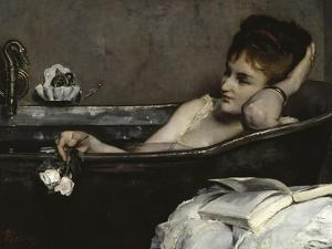 The Bath, c.1867 by Alfred Georges Stevens