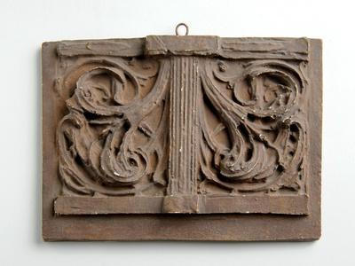 Maquette for the Double Panel of Foliage for the Crown on the Figure of Charity