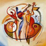 Jazz Explosion I-Alfred Gockel-Art Print