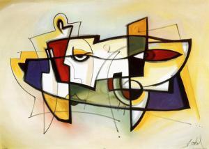 City Dynamics VI by Alfred Gockel