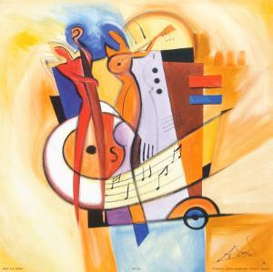 Jazz on the Square by Alfred Gockel