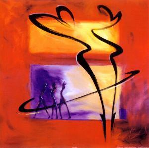 Rhumba in Red I by Alfred Gockel