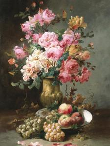 The Flowers and Fruits of Summer by Alfred Godchaux