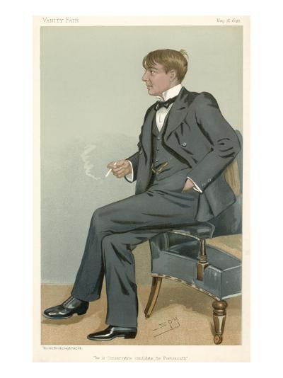 Alfred Harmsworth, Lord Northcliffe Newspaper Proprietor--Giclee Print