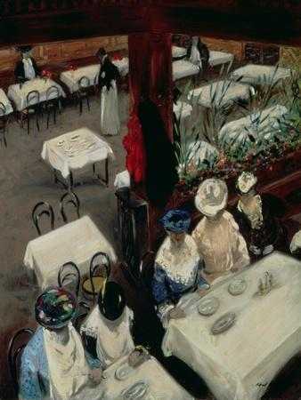 In a Cafe, 1905