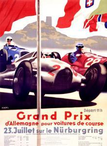Grand Prix Allemagne by Alfred Hierl