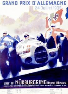 Grand Prix d'Allemagne by Alfred Hierl
