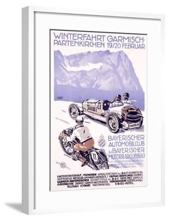 Winterfahrt Garmisch, Partenkirchen Car Race