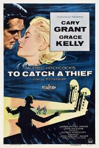 """Alfred Hitchcock's To Catch a Thief, 1955, """"To Catch a Thief"""" Directed by Alfred Hitchcock"""