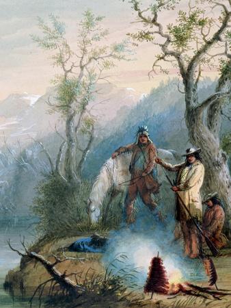 Roasting the Hump Rib, 1837