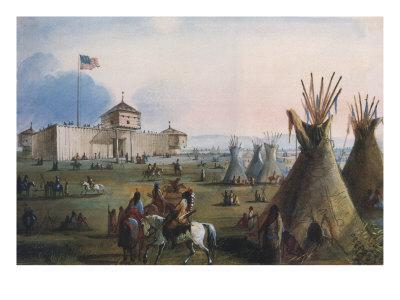 Sioux at Ft. Laramie, 1837