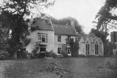 Alfred Lord Tennyson's Birthplace, Somersby, Lincolnshire, 1924-1926-Valentine & Sons-Giclee Print