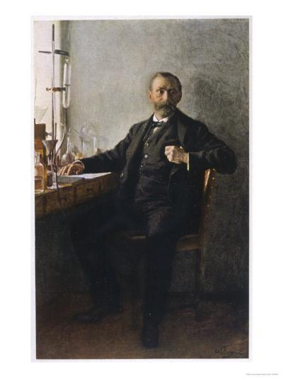 Alfred Nobel Swedish Inventor Manufacturer and Prize-Giver--Giclee Print