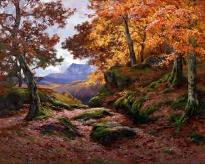 Autumn Gold by Alfred Oliver