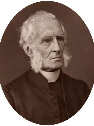 Alfred Ollivant, Bishop of Llandaff, 1878-Lock & Whitfield-Photographic Print
