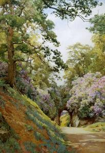 Flowery Glade by Alfred Parsons