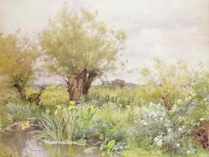 Near Shiplake by Alfred Parsons