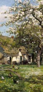 Spring in the Orchard by Alfred Parsons