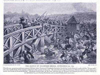The Battle of Stamford Bridge Ad1066, 1920's