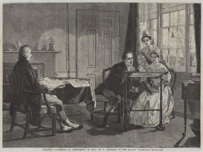 George Stephenson at Darlington in 1823