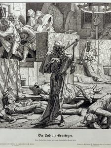 Death as Assassin, 1851 by Alfred Rethel