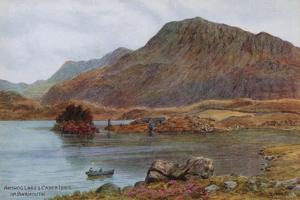 Arthog Lake and Cader Idris, Nr. Barmouth by Alfred Robert Quinton