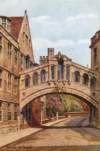 Bridge of Sighs, Hertford College, Oxford by Alfred Robert Quinton