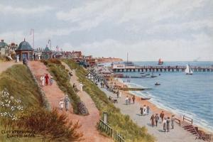 Cliff and Promenade, Clacton-On-Sea by Alfred Robert Quinton