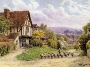 Cropthorne, Near Evesham, Worcester by Alfred Robert Quinton